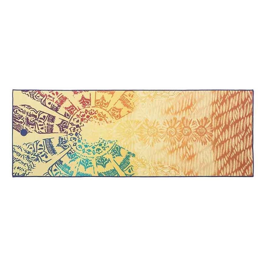 Yogitoes Skidless® Towel . Yogatuch . Chakra from Nice to meet me