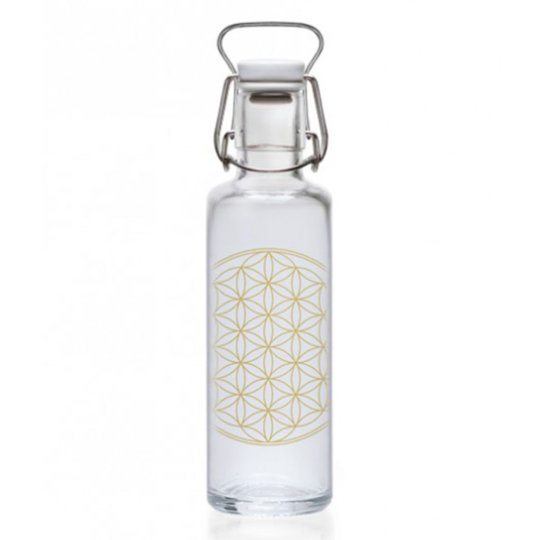SOULBOTTELS TRINKFLASCHE Flower of Life from Nice to meet me