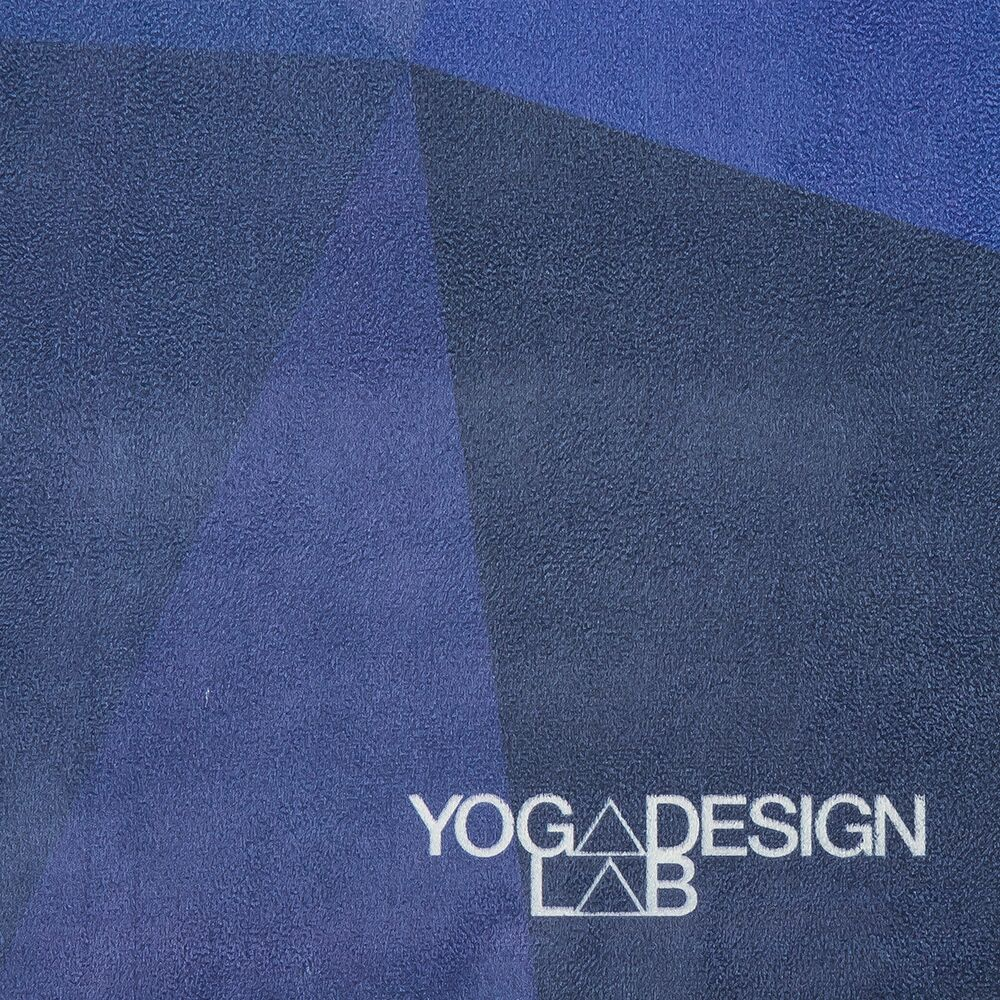 Yoga Design Lab . Travel Mat . Geo Blue from Nice to meet me