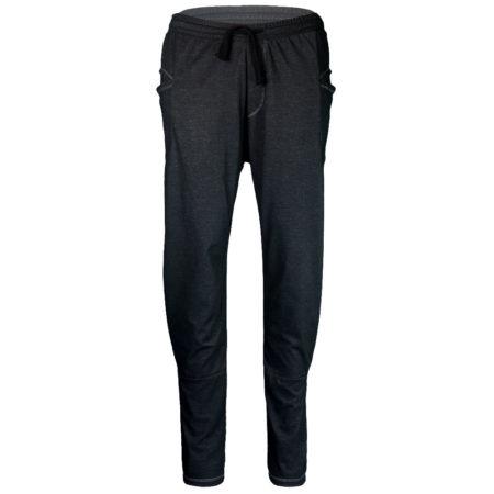 Baggy Pant . Black Melange