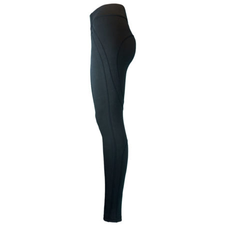 Dynamic Legging . Space Black . Biobaumwolle