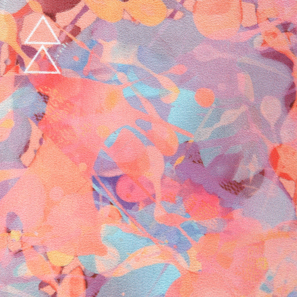 Yoga Design Lab . Studio Mat . Kaleidoscope from Nice to meet me