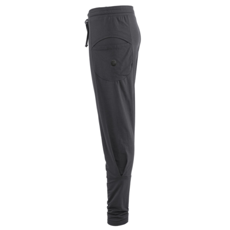 Baggy Pant Unisex . Dark Gray . TENCEL®