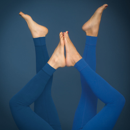 Essential Legging . Biobaumwolle . Night Blue