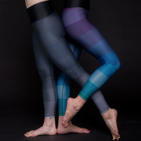 Essential Legging . Night Stripes