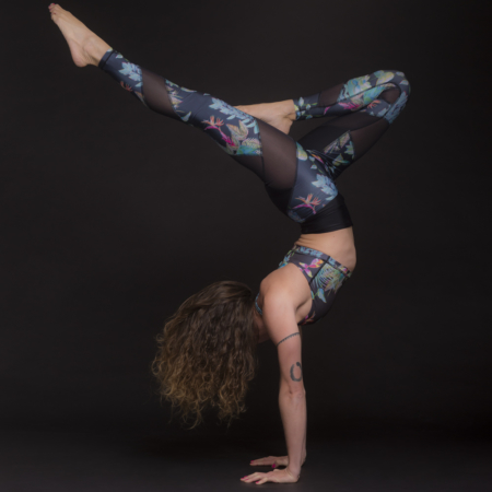 Energy Legging . Deep Jungle